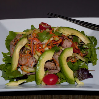 Spicy Thai Salad with Avocado
