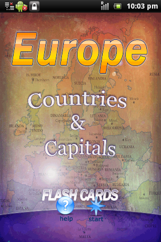 Europe Countries and Capitals