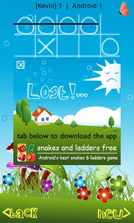 Tic Tac Toe in Blue Sky 7.0 screenshot 1723739