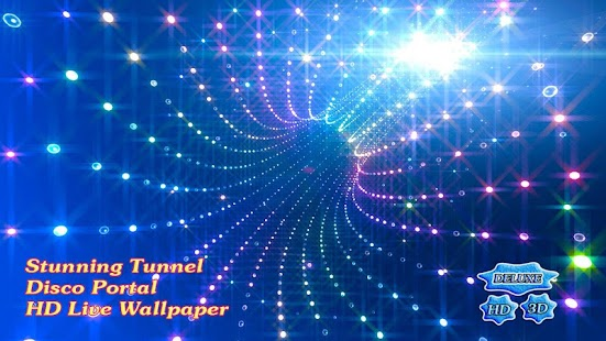 Stunning Tunnel Disco Portal - náhled