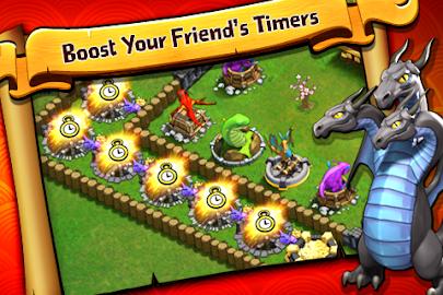 Battle Dragons:Strategy Game Screenshot 4