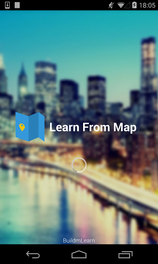 Learn from Map- screenshot