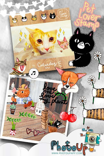 Pet Lover Stamp by PhotoUp