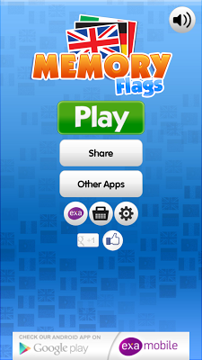 Memo Flags Games - screenshot