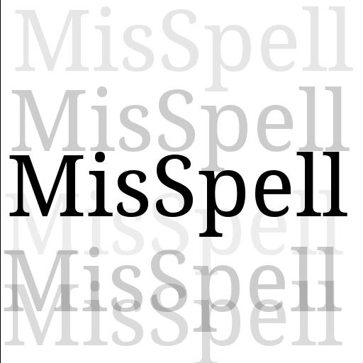 MisSpell: A Spelling Game LOGO-APP點子