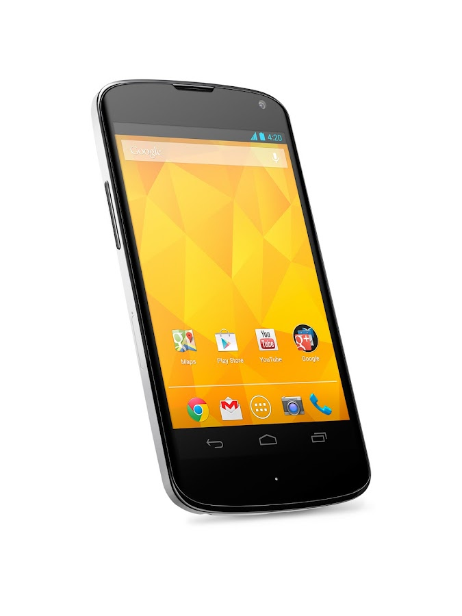 Nexus 4 with Bumper (White, 8GB) - screenshot