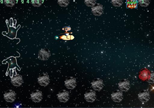 【免費街機App】Monkey Meteorite Madness-APP點子