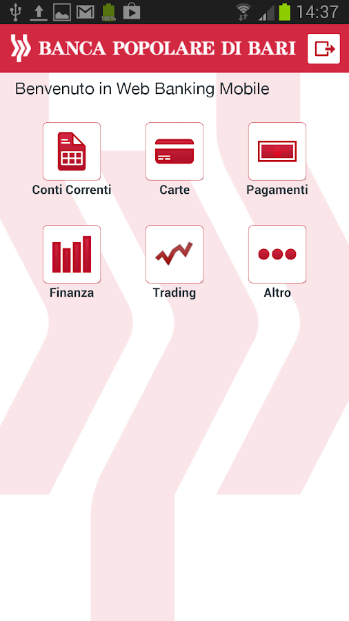 Gruppo Banca Popolare di Bari - screenshot