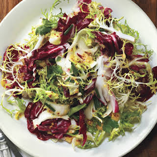 Mixed Greens with Mustard Dressing.
