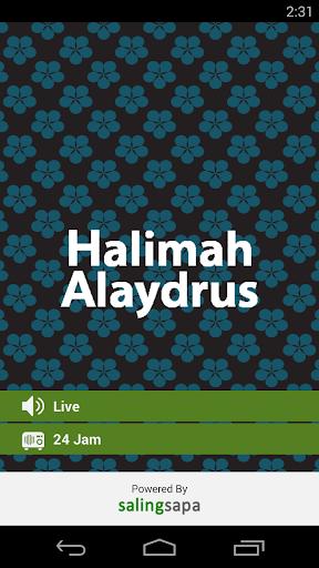 Halimah Alaydrus Radio