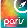 Paris Offline Map Guide Hotels APK icon