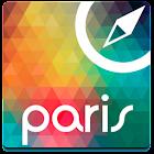 Paris Mapa Offline, Guia icon