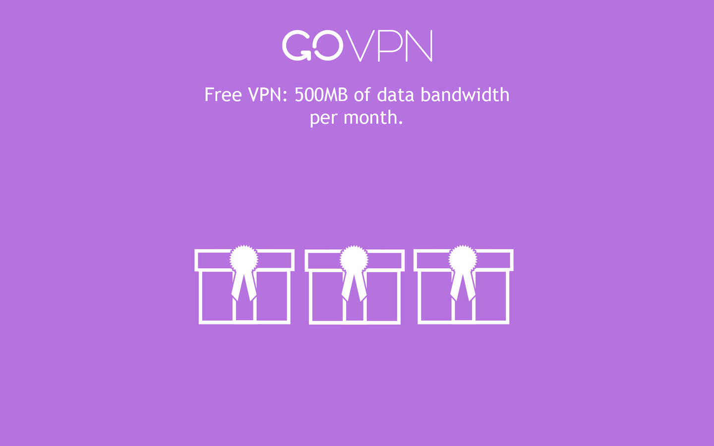 GoVPN free VPN for Android- screenshot