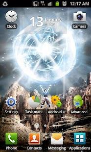 Energy Ball Live Wallpaper