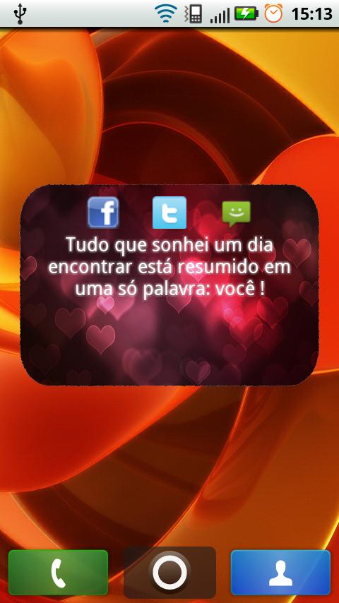 Frases Dia dos Namorados- screenshot