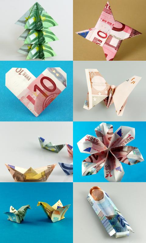 Money Origami- screenshot