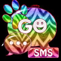 GO SMS Theme Zebra 2.9