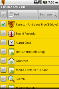Fastscan Anti-Virus - screenshot thumbnail