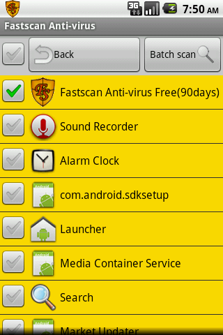 Fastscan Anti-Virus - screenshot