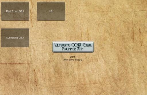 Ultimate CCNA Exam Prepper App