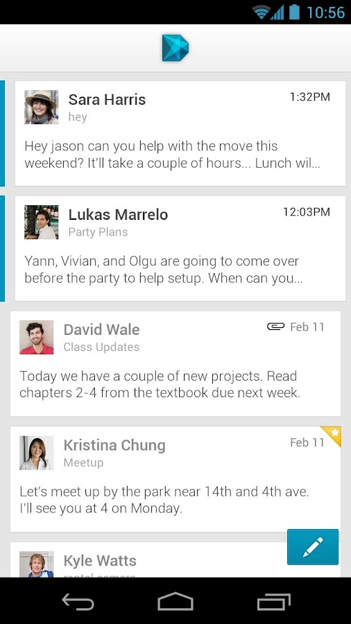 Dextr Email Beta - screenshot