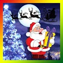 Santa Christmas Snowfall Live icon