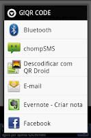 Screenshot of G!QR CODE - Generate QR