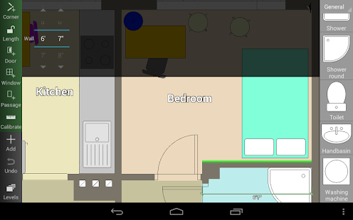 Floor plan creator android apps on google play for Room design 3d app