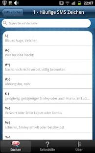 SMS Zeichen & Abkürzungen Pro- screenshot thumbnail