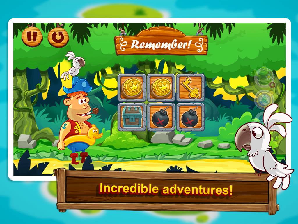 Treasure swirl Ultimate memory - screenshot