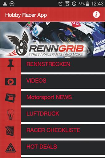 Hobby Racer App
