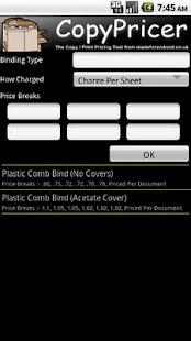 CopyPricer Free- screenshot thumbnail