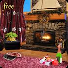 Romantic Fireplace Live Wallpaper Free icon