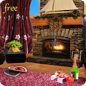 Romantic Fireplace LWP Free