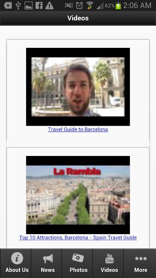 Travel To Barcelona - screenshot