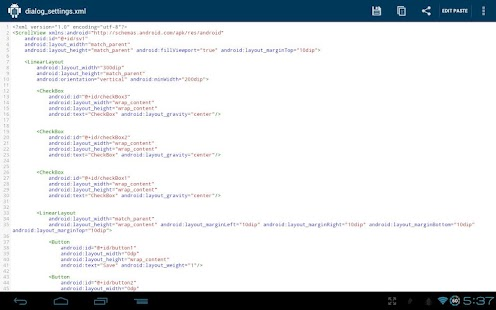 DroidPaste for Pastebin- screenshot thumbnail