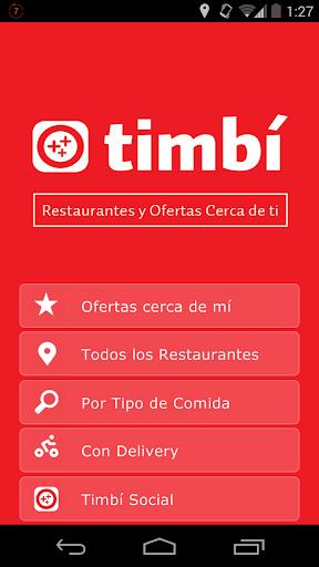 TIMBI Menú App