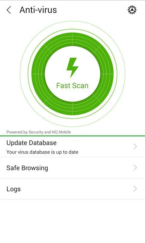 Security - screenshot