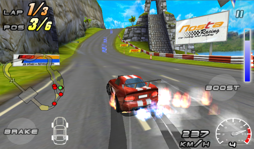 Raging Thunder 2 - screenshot