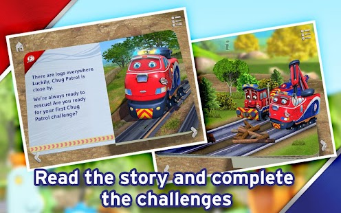 Chuggington Chug Patrol Book - screenshot thumbnail