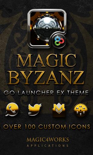 GO Launcher Theme Byzanz