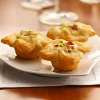 Crescent Bacon Cheese Tartlet.