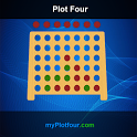 Plot four in a row multiplayer icon