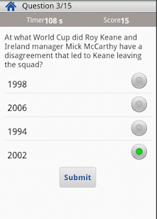 Football Quiz for Freak - screenshot thumbnail
