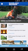 Screenshot of Dagblad van het Noorden DvhN