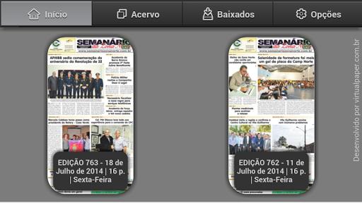Jornal Semanário da Zona Norte