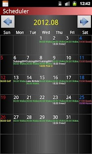 Scheduler - screenshot thumbnail