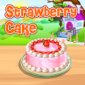 Strawberry Cake Cooking icon