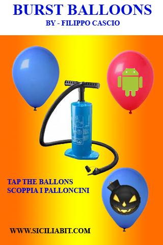 burst balloons scoppia palloni - screenshot