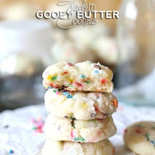 Funfetti Gooey Butter Cookies.
